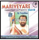 Mariveyare (Classical Vocal Live) - KJ Yesudas Audio CD