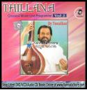 Thillana (Classical Vocal Live) - KJ Yesudas Audio CD