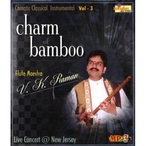 Charm of Bamboo (Instrumental) - VK Raman Audio CD