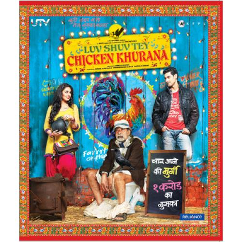 Luv Shuv Tey Chicken Khurana - 2012 (Hindi Blu-ray)