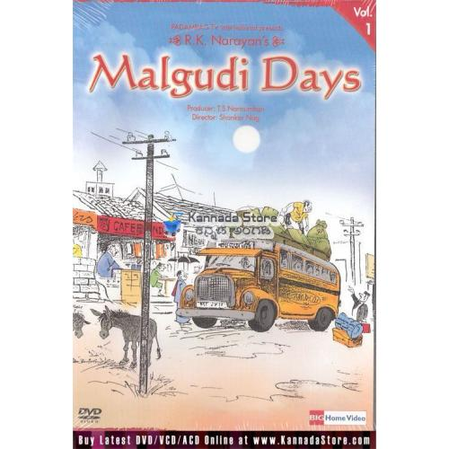 Malgudi Days (Single DVD) 9 Episodes - Vol 1