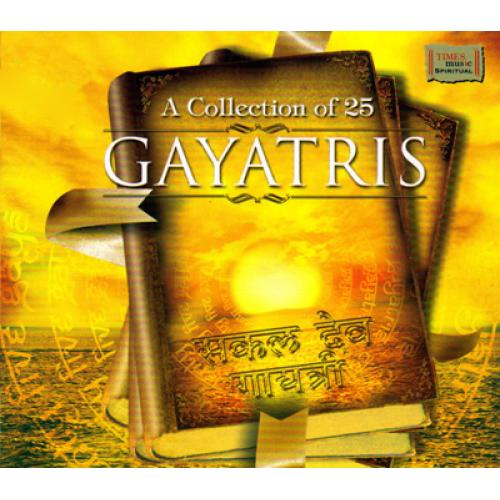 A Collection of 25 Gayatris (Spiritual) Audio CD